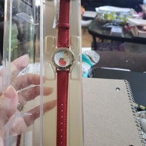 Disney time works holiday tinker bell watch